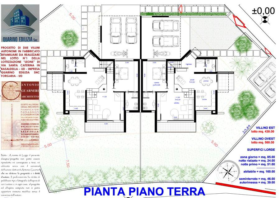 Pin progetti di ville progettisti moderne on pinterest for Progetti ville bifamiliari moderne