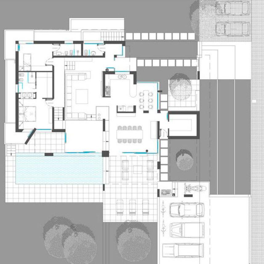 Piante di case moderne px67 regardsdefemmes for Progetti di ville